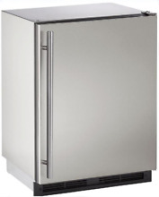 U Line U1224RSOD00B Outdoor Series 24  Built in Refrigerator in Stainless Steel