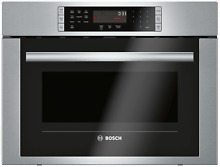 Bosch 500 Series HMC54151UC 24  Speed Oven with Convection in Stainless Steel