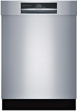 Bosch 24  SHEM78WH5N 800 Series Semi Integrated Dishwasher w Home Connect SxS