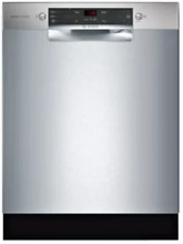 Bosch 300 Series SGE53U55UC Full Console ADA Dishwasher Stainless Steel