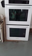 Kitchenaid Double Electric Wall Oven 27  White  Open Box Never Used NEW