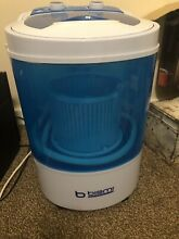 Bismi Portable Mini Washing Machine   Spin Dry 6 6lb capacity Model XPB30 1208A
