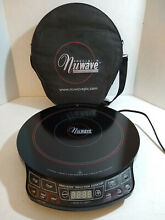 NuWave Precision Induction Cooktop Portable Model 30121 1300W With Case