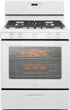 Whirlpool WFG505M0BW 30 Inch Freestanding Gas Range with Broiler Drawer in White