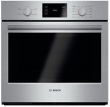 Bosch 500 Series HBL5351UC 30 Inch Single Electric Wall Oven Stainless Steel