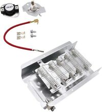 8565582 Dryer Heater Thermostat Kit for Estate Kenmore Whirlpool Sears Roper