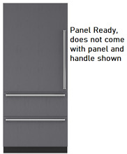 Sub Zero IT36CILH 36 Inch Panel Ready Built In Bottom Freezer Refrigerator LH