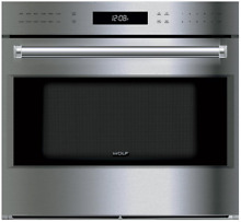 Wolf SO30PESPH E Series 30  Single Electric Wall Oven w True Convection S Steel