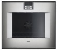 Gaggenau 400 Series BO481611 30  Single Electric Wall Oven Stainless Steel