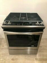Whirpool Slide In Gas Range Gas Stove in Stainless Steel