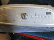 W10269599 Whirlpool Cabrio Washer console with Control Board pre owned