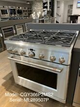 Cafe 36  All Gas Professional Range With 6 Burners  CGY366P2MS1 KM S