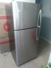 Frigidaire 30 in Freestanding Top Mount Refrigerator Stainless Steel FFTR2021TS