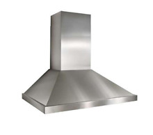 Best K4254SS 54 Inch Wall Mount Chimney Hood with 1 000 CFM Internal Blower
