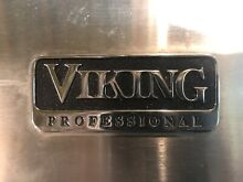 Viking Gas Stove 6 Burner VDSC365 6BSS Dual Fuel Stainless Steel Wolf Thermidor
