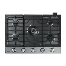 Samsung NA30N6555TS 30  Gas Cooktop in Stainless Steel w 5 Burners and WIFI