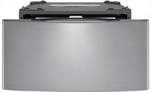 LG WD100CV 27 Inch 1 0 cu  ft  Twin Wash Pedestal Sidekick Washer Graphite Steel