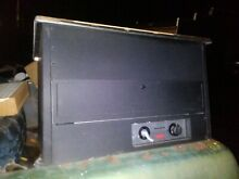 Vintage Gas and Electric Majestic Char Grill char roks grille