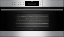 Wolf CSO30TESTH E Series 30 Inch Steam Oven w 1 8 cu  ft  Convection Capacity