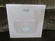 Nest Protect Smoke   Carbon Monoxide Alarm  2nd Gen  Wired  Google  S3003LWES
