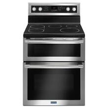 MAYTAG 30  Wide Electric 5 Element Double Oven Convection Range  MET8800FZ  NEW