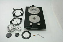 HBHOB 12 Inches Gas Stove High Gas Cooktop Hob Stove Top 2 Burners HBG2401