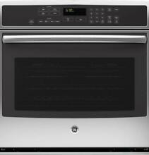 GE Profile Series 30 Inch Stainless Steel 10 Cu Ft  Double Wall Oven