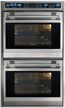 Wolf DO30F S L Series 30 Inch Double Electric Wall Oven with Dual Convection