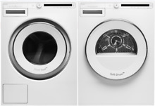 Asko W2084W   T208VW Classic Series 24 Inch Front Load Washer   Dryer in White