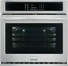 Frigidaire Gallery 27  Stainless Steel Electric Single Convection Wall Oven