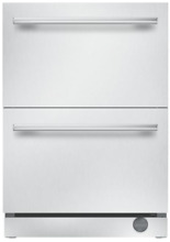 Thermador T24UC910DS Masterpiece 24  Refrigerator and Freezer Drawers Stainless