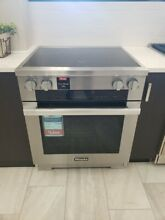 HR1622I  MIELE 30  INDUCTION RANGE SELF CLEAN OVEN STIANLESS  DISPLAY