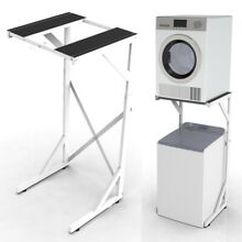 Dryer Stand  Portable Top or Front Loading Washer Machine and Dryer Holder Shelf