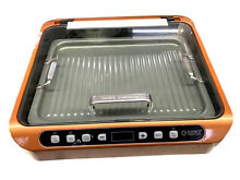 Countertop Smokeless Induction Cooker with BBQ Griddle Pan  ETL  Gold
