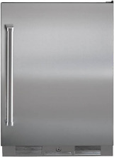 Sub Zero UC24ROPHRH 24 Inch Built in Outdoor All Refrigerator Stainless Steel