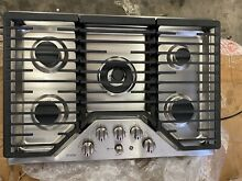 GE Profile PGP9030SLSS 30 Inch Natural Gas Cooktop with 5 Sealed Burners