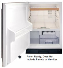 Sub Zero UC24CILH 24 Inch Built in Undercounter Refrigerator Freezer Panel Ready