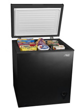 Arctic King 5 cu ft  Chest Freezer Ice Chest 5CF   Black