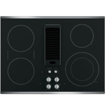 GE Profile  30  Downdraft Electric Cooktop PP9830SJSS