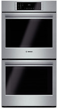 Bosch 800 Series HBN8651UC 27 Inch Double Electric Wall Oven Stainless Steel