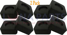 2 Pack Washer and Dryer Anti Vibration Pads WX17X10001  Set of 4