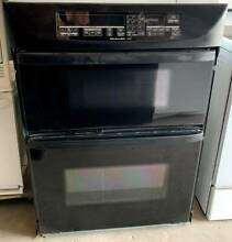 1999 30  KITCHENAID Black Wall Microwave Oven Combination Model  KEMS307GBL0