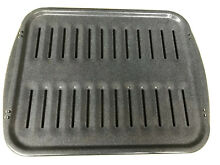 Gray Speckled Enamel REPLACEMENT Oven Broiler Pan 16  x 13