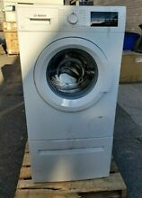 NEW Bosch 300 series 24  White Stackable Front Load Compact Washer WAT28400UC