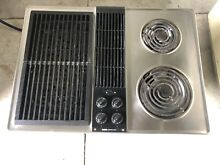 Jenn Air C203 Stainless Steel  Downdraft Cooktop Electric 30  FREE SHIPPING