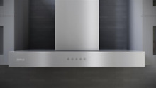 Zephyr ZROM90CS Essentials Europa Roma 36 Inch Wall Mount Chimney Range Hood