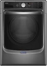 Maytag 27  Metallica Slate 11 Cycle Front Load Washer w  Steam MHW8200FC
