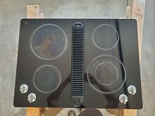 Jenn Air JED8430BDB18 Downdraft Cooktop Electric used good condition