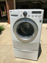 LG Front Load Washing Machine WM2250CW with Pedestal   LOCAL PICK UP ONLY