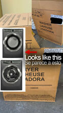 BRAND NEW Washer   Dryer  Elec  Set   Electrolux   Model  EFLS627UTT   EFME627UT
